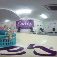 カーブス東広島の全天球画像を公開します!