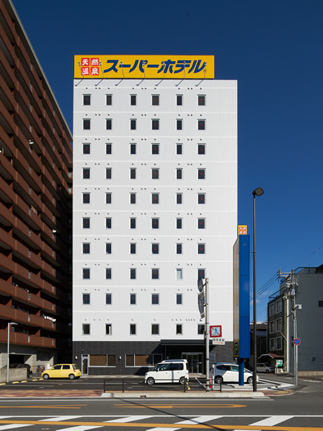 スーパーホテル三原駅前 No,1!