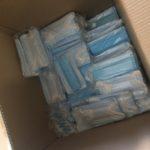 各営業所へマスクと消毒液の配布を行いました!